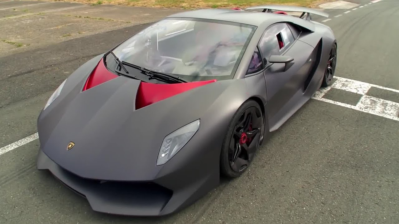Lamborghini Sesto Elemento Behind The Scenes Top Gear Series 20