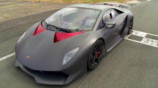 Lamborghini Sesto Elemento | Behind the scenes | Top Gear