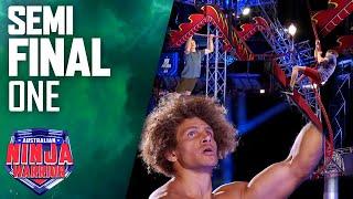 Three of Australia's best Ninjas take on the Semi Final course | Australian Ninja Warrior 2021