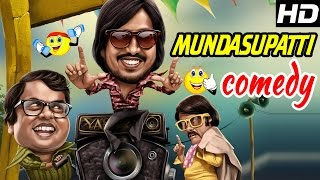 Kaali Venkat Comedy Scenes | Mundasupatti | Part 2 | Vishnu | Munishkanth | Latest Tamil Comedy