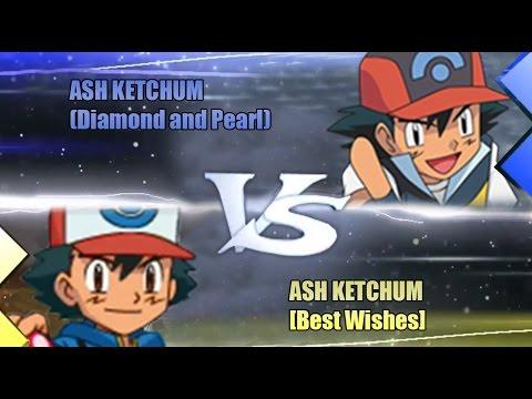 Pokemon Omega Ruby & Alpha Sapphire [ORAS]: Ash Vs Ash (Diamond and Pearl Vs Best Wishes)