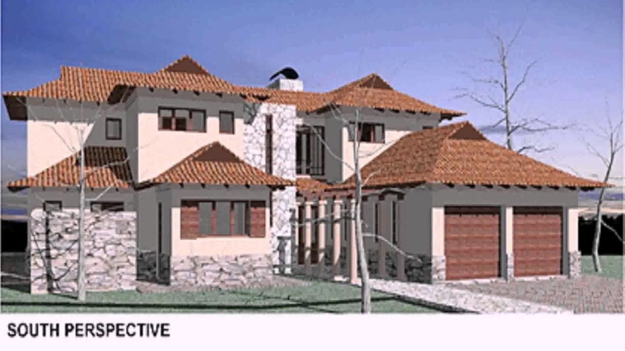 House plans south african double storey youtube for Double storey house plans in south africa