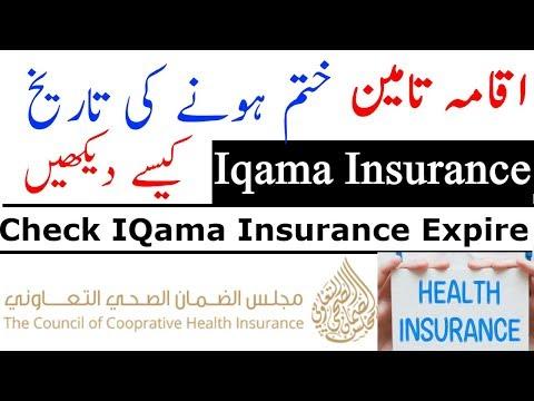 Insurance inquiry: Check Iqama Insurance Validity on-line | Visa Guide