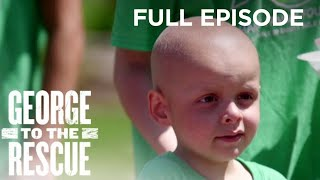 Surprise Outdoor Makeover for Courageous Child Battling Cancer   George to the Rescue