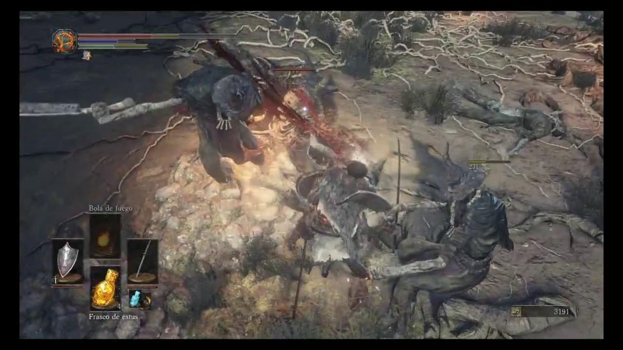 Dark Souls 3 Gameplay Cap 4 Caballero Cebolla Arquero Gigante Pactos Luz Solar Y Appildores