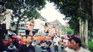 Peliatan, Ubud - Ogoh-ogoh Parade 2014