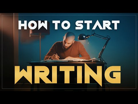How to Start Writing your Screenplay