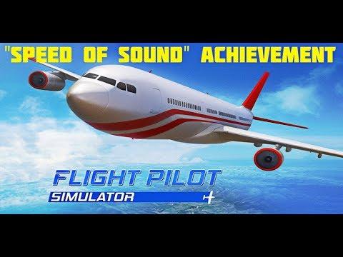 Flight Pilot Simulator - Speed of Sound achievement