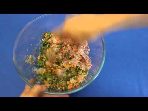 Рецепт приготовления куриного зельца с зеленью в мультиварке VITEK VT-4214 R