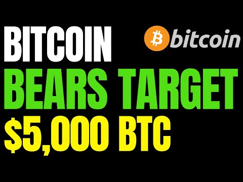 Bitcoin Bears Target BTC Price At $5,000 | Best Places To Earn Interest On Your Cryptocurrency