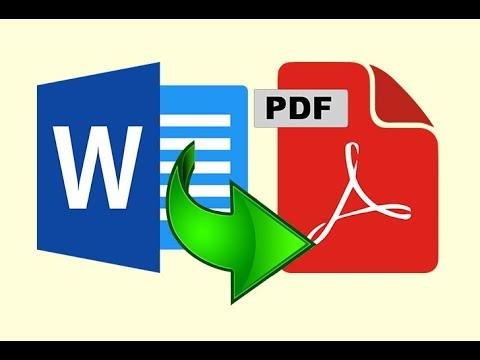 Word Dosyalarini Toplu Halde Pdf Formatina Cevirelim