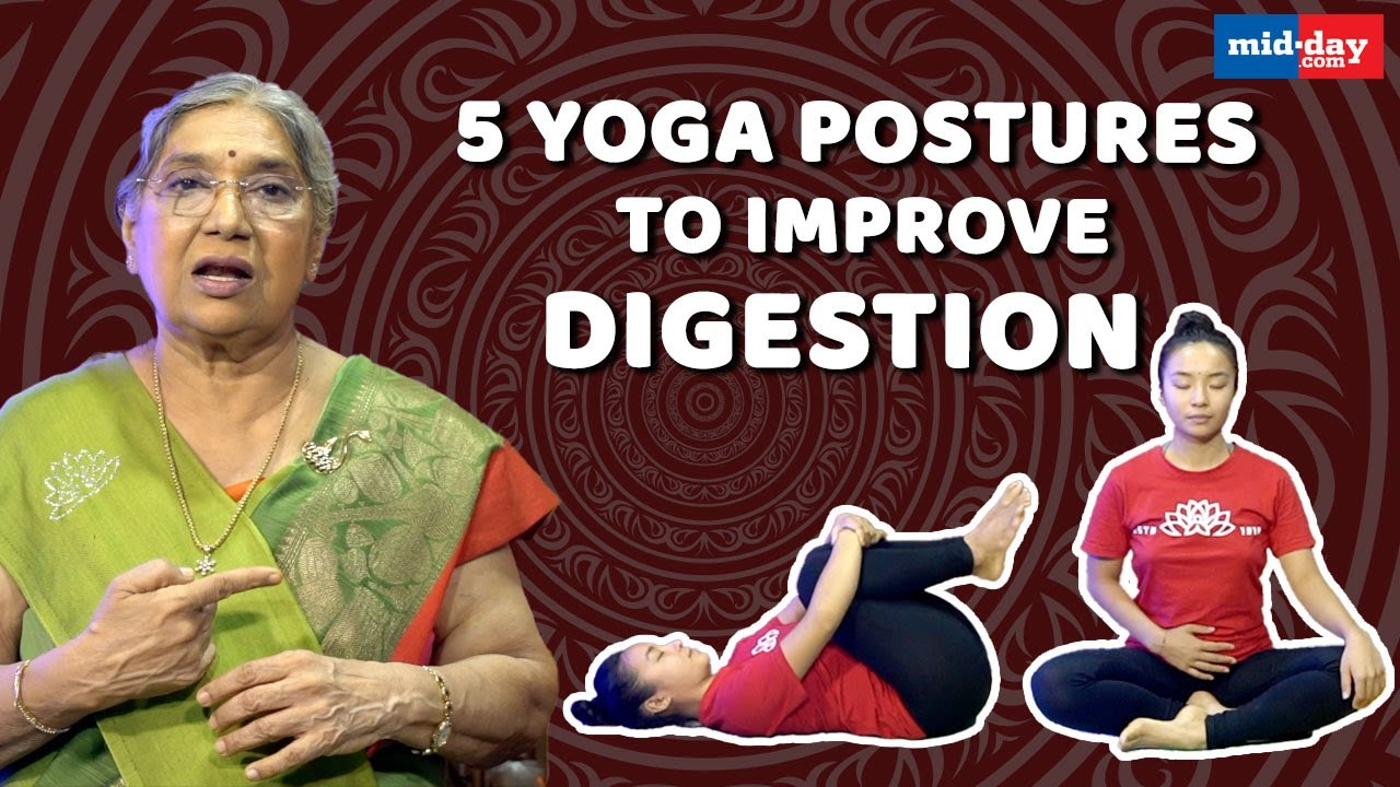 Download 5 Yoga Postures To Improve Digestion | Stay Fit With Midday