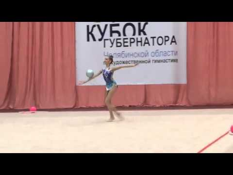 Dina Averina  Ball - CHELYABINSK REGION GOVERNOR&39;S CUP   AverinaTwins