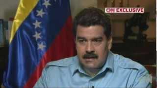 Nicolás Maduro en entrevista con Amanpour | Parte 1