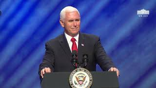 Vice President Pence Delivers Remarks at the Celebrate Freedom Rally