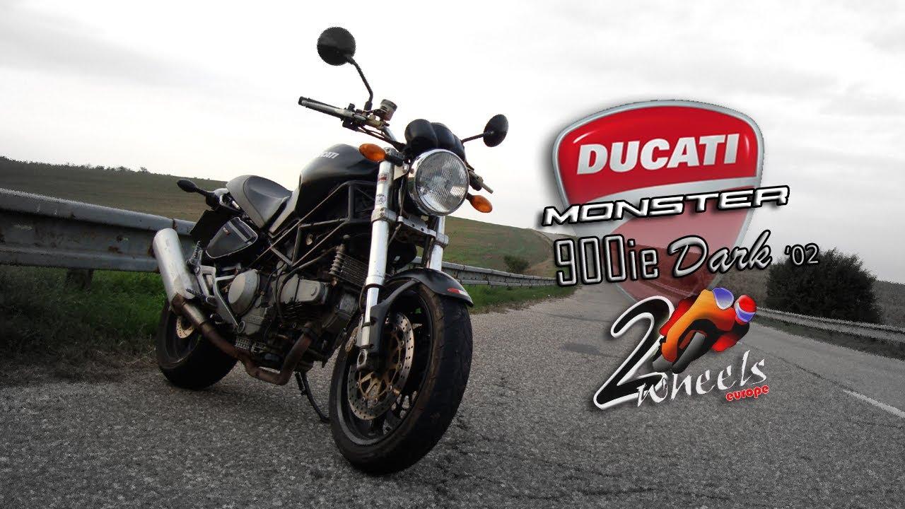 Ducati Monster 900ie Dark 02 Bike Review 2wheelseurope Hd Youtube