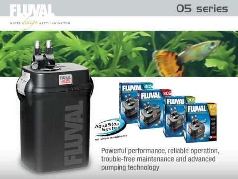 Fluval 05-Series Aquarium Canister Filters