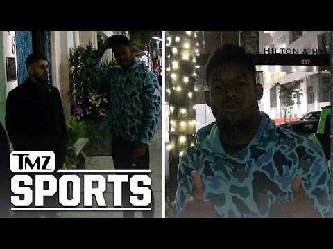 JuJu Smith-Schuster Trades Pants with TMZ Photog to Get into Restaurant | TMZ Sports