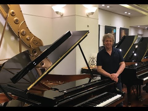 Pascal Rogé in Steinway Salon Tokyo