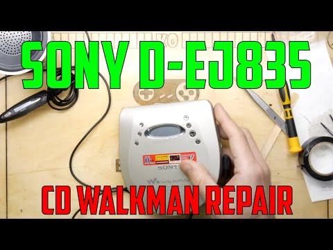 Sony D-EJ835 CD Walkman Repair