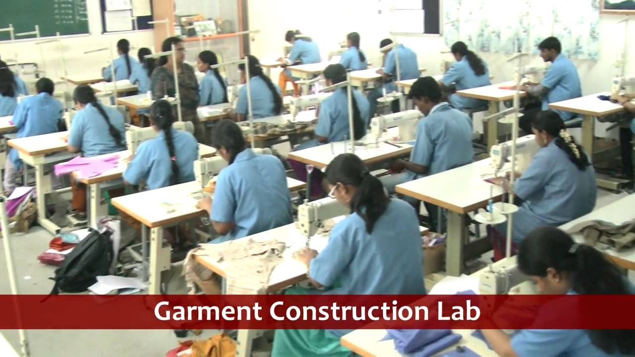 Fashion Technology Department Sona College Of Technology Salem Tamilnadu India Youtube