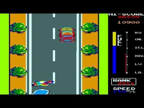 Traverse/Zippy Race (Arcade Version) Playthrough