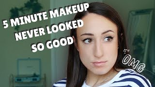 HOW TO GET FLAWLESS MAKEUP IN UNDER 10 MINUTES :: Drugstore Edition