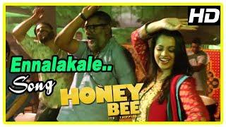 Honey Bee Latest Malayalam Movie Songs | Ennalakale Song | Asif Ali | Bhavana | Lal | Deepak Dev