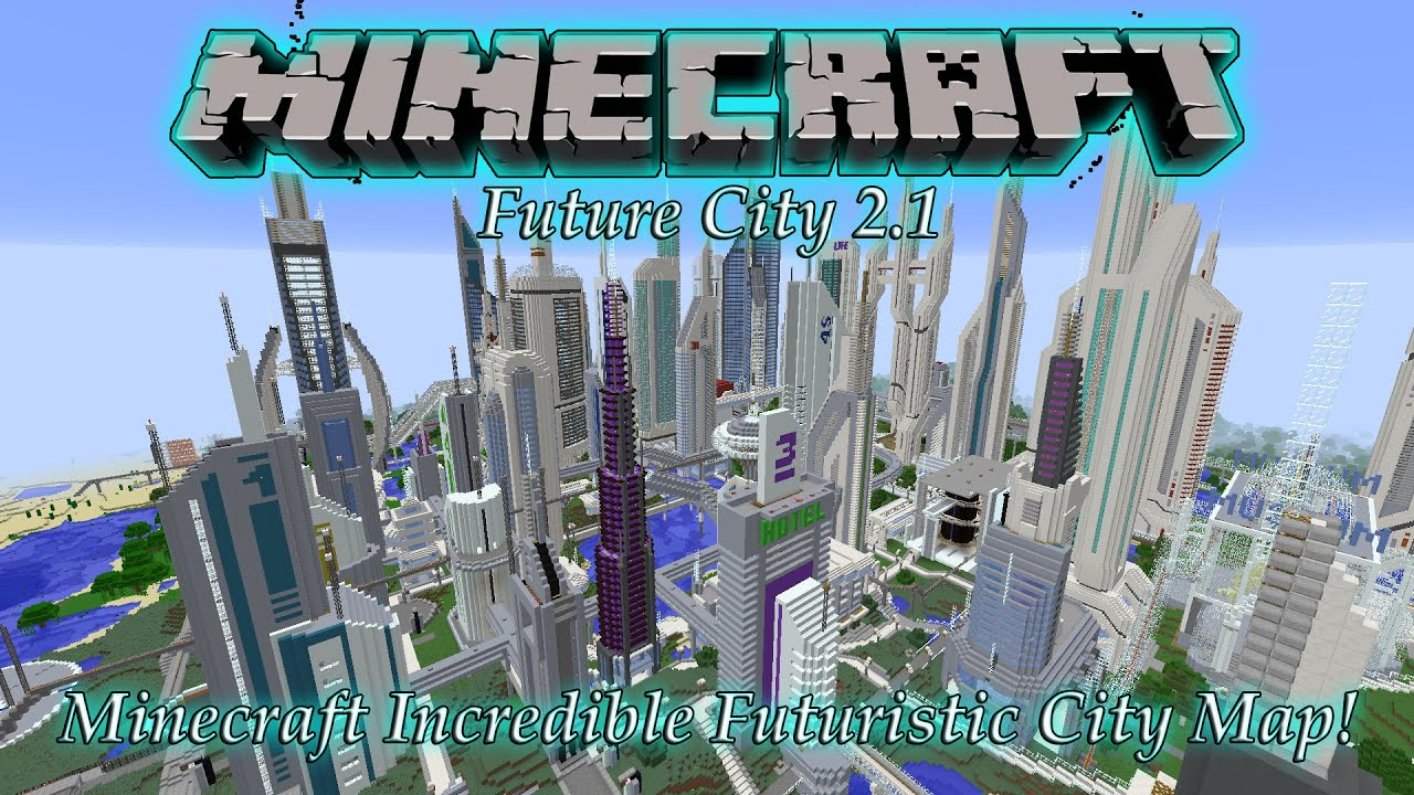 future city minecraft map download