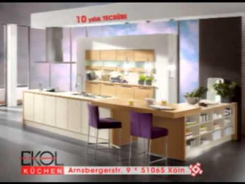 ekol küchen küche kuche kueche mutfak - YouTube