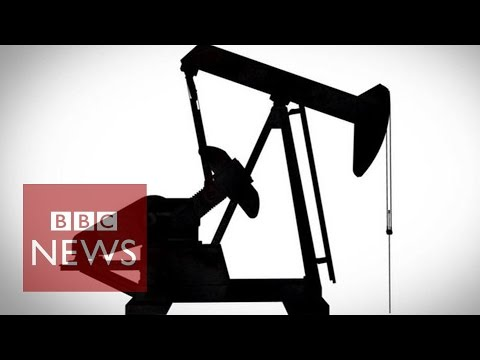 The oil price drop - in 90 seconds - BBC News