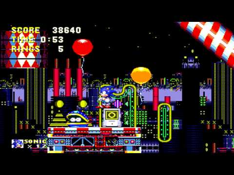 Sonic & Knuckles PC Collection - Carnival Night Zone Act 2 (Sega Genesis Remix)