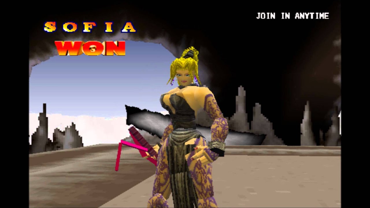 Battle Arena Toshinden 2 Sofia Gameplay For The Pc Youtube