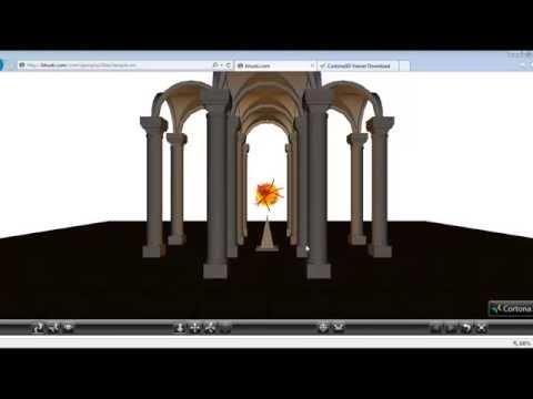 Tutorial 1 VRML - Curso sobre VRML como instalar Cortona 3d y vrmlPad