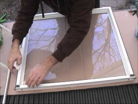 Repair Broken Double Pane Vinyl Window You