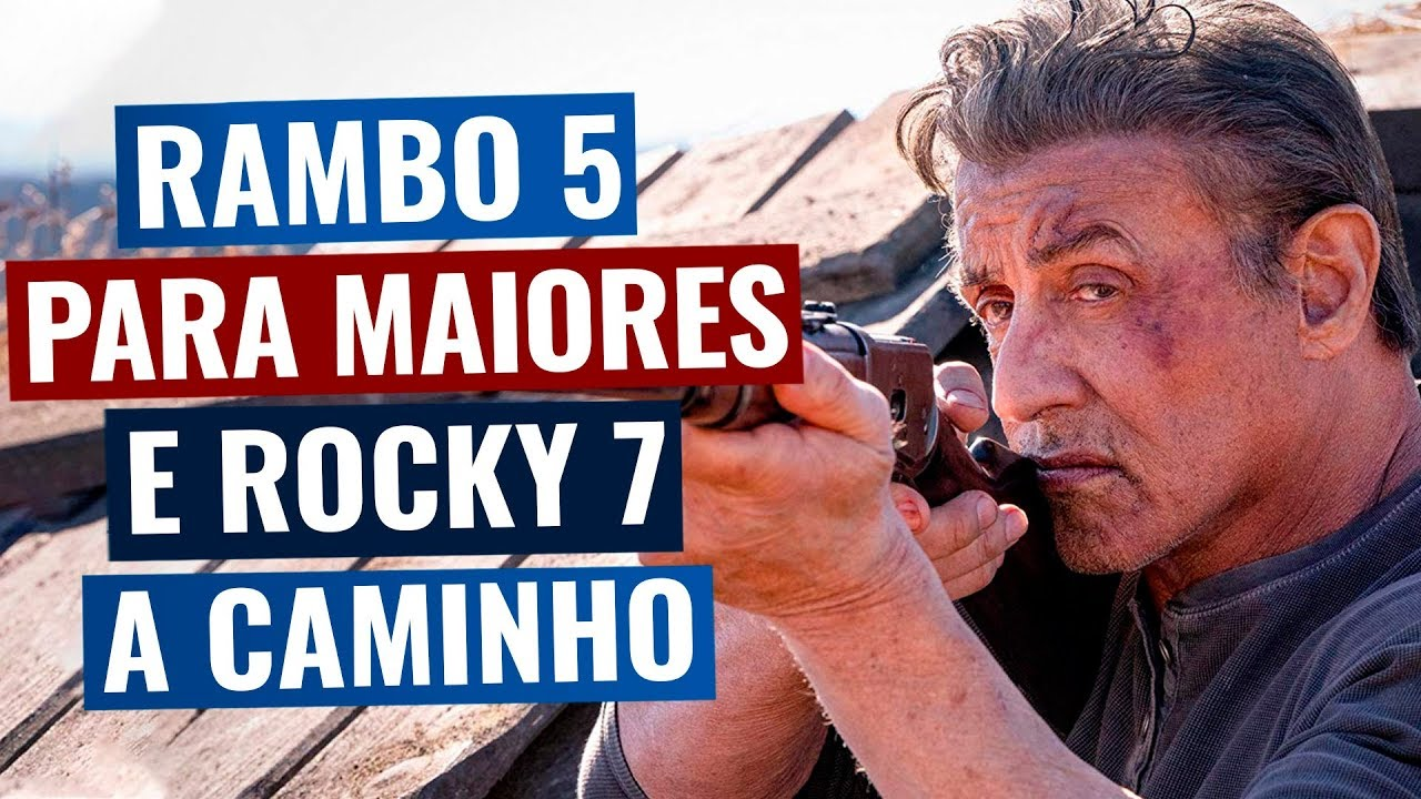 Rambo 5 com classificação alta CONFIRMADA e Rocky 7 a caminho! (planos para Cobra e mais!)