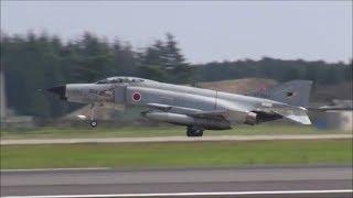 迫力の低空離陸 F-4ファントム 第301飛行隊・第302飛行隊 Rwy03R  百里基地 nrthhh