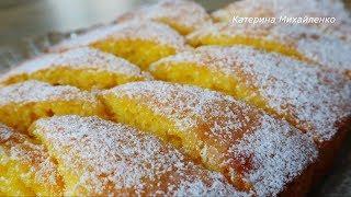Пирог ПАЛОЧКА-ВЫРУЧАЛОЧКА! Ну очень вкусный ЛИМОННЫЙ ПИРОГ-КЕКС!