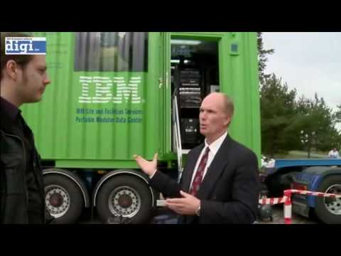 IBM Portable Modular Data Center (PMDC) Tour - Part 1 of 6