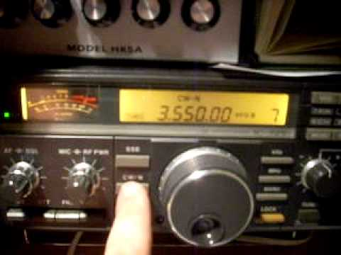 Icom 725 with 250 Hz CW filter ver. QRM