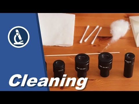 🔬 Cleaning Microscope Eyepieces