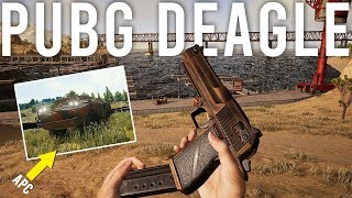PUBG adds a Deagle and an APC