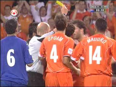 Ruud van Nistelrooy celebration vs Andorra