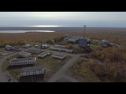 Abandoned Air Force Radar Station--Keweenaw Drone Explorations