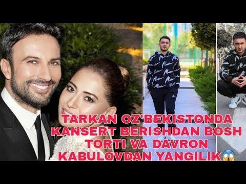Download TURKIYALIK XONANDA TARKAN O'ZBEKISTONDA KANSERT BERISHDAN BOSH TORTI