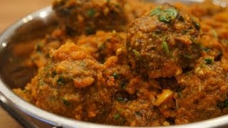 Keema Kofta Masala Recipe - Indian Beef Meatballs