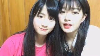 この動画は、元NMB48中野麗来ちゃんと、NMB48中野美来ちゃんが、SHOWROO...