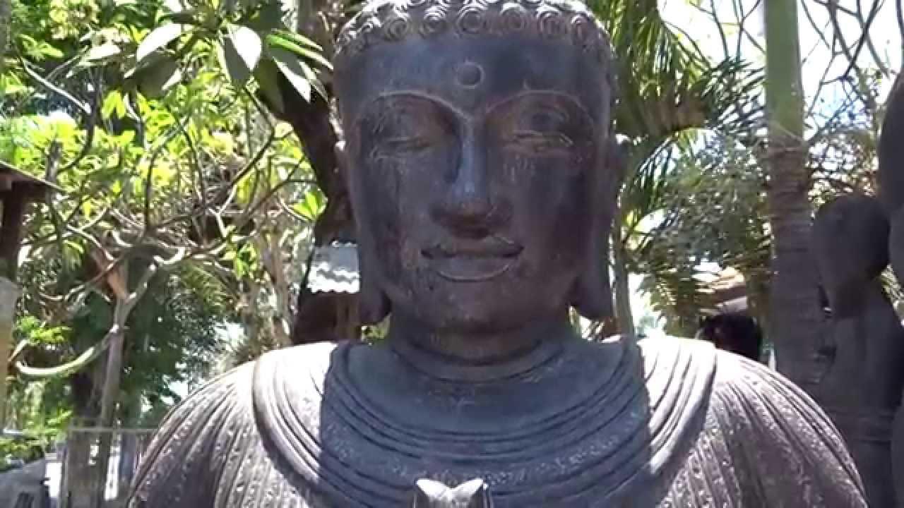 Large Namaste Garden Buddha Statue Lotussculpture Youtube