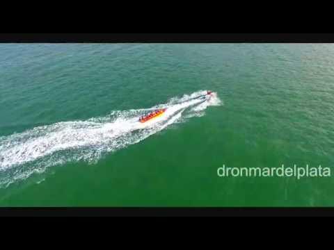 Mar del Plata con agua turquesa
