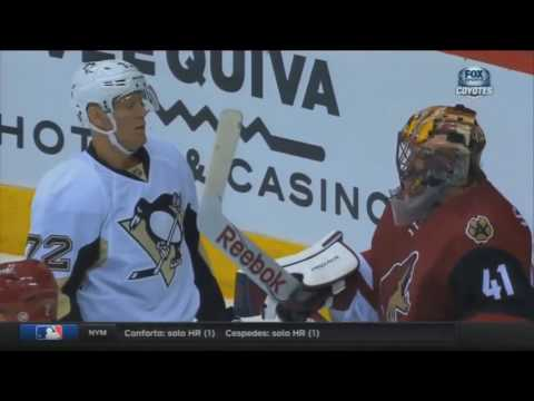 NHL: Mike Smith Stick Compilation